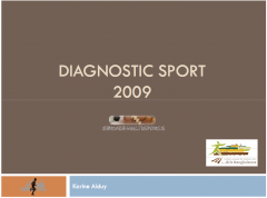 Diagnostic sport 2009