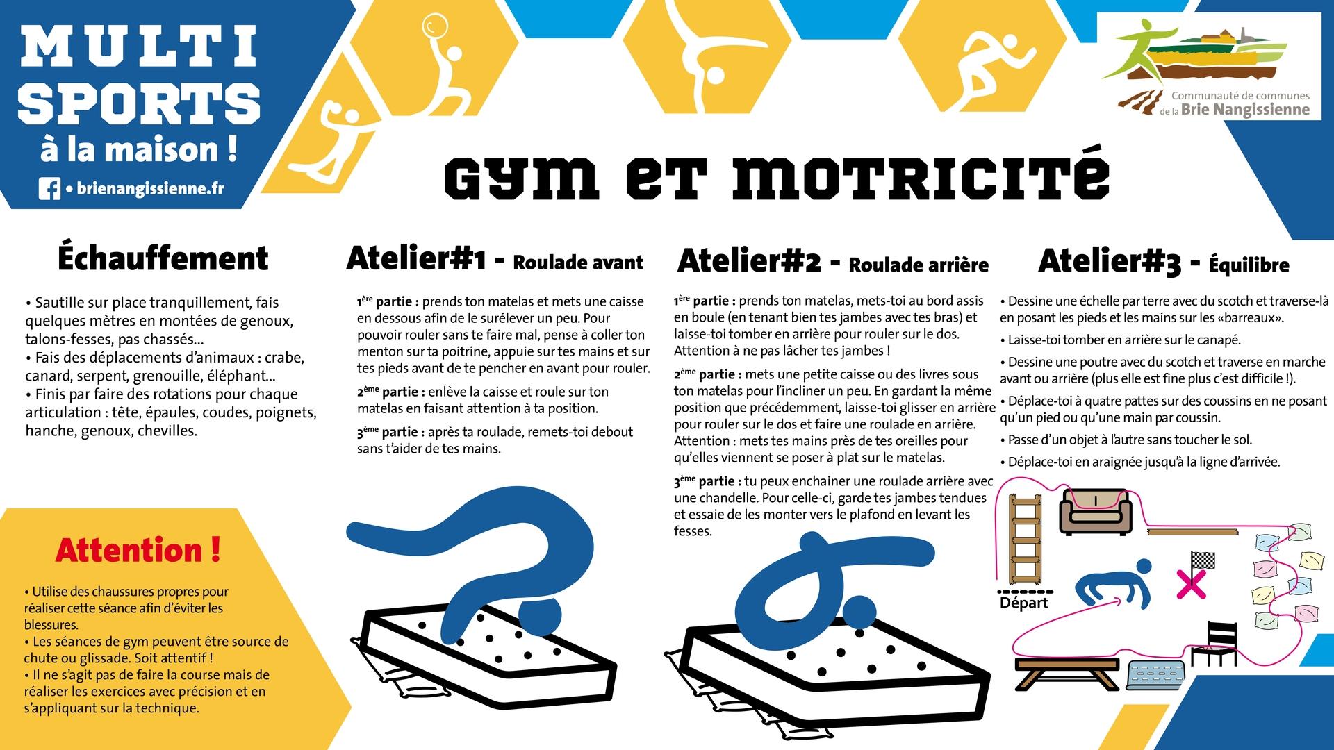 Activité #13 Gym - FICHE