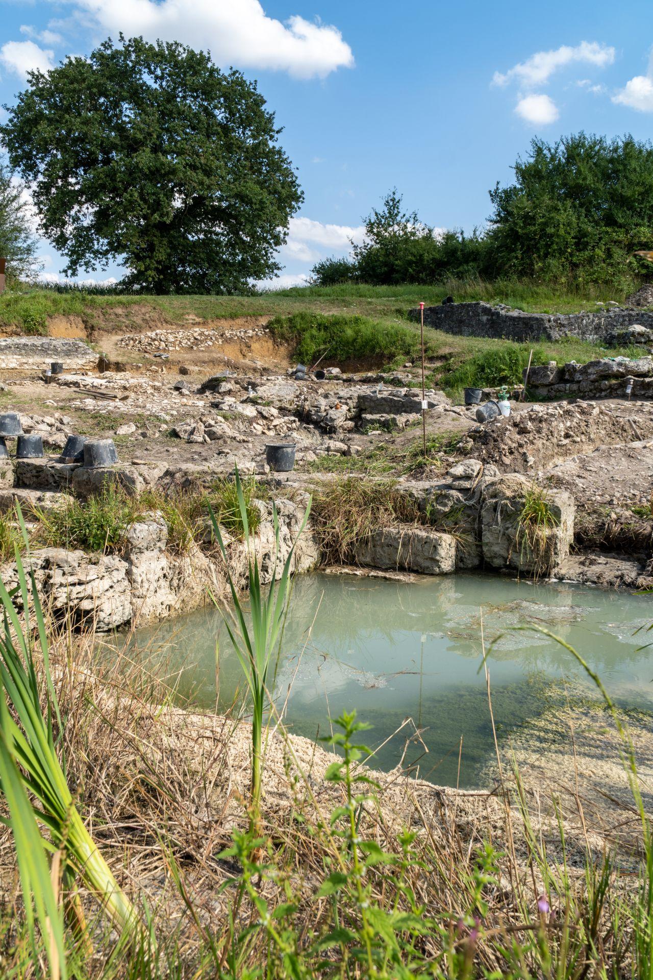 Sanctuaire de source Châteaubleau - ©CCBN
